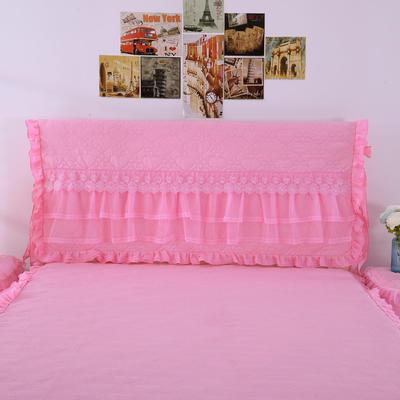 蝴蝶结床头罩系列 1.2米 粉色