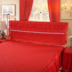 甜心款系列床头罩 床头宽度1.2米高度65厘米 红色