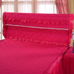 甜心款系列床头罩 床头宽度1.2米高度65厘米 玫红