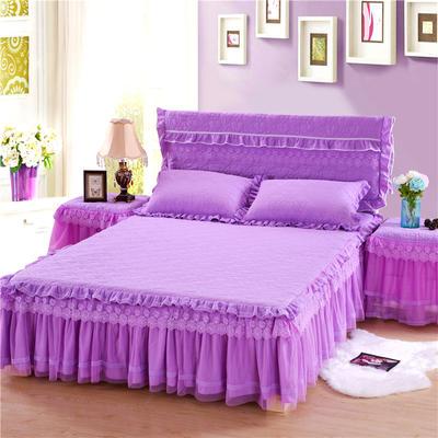 2019秋冬更新上市升级版玫瑰款-床裙系列 枕套/对 紫