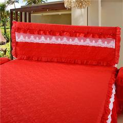 浩情国际 唯美系列-床头罩 1.2米 大红