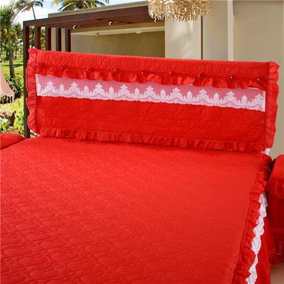 2021秋冬更新上市 唯美系列-床头罩 1.5米 大红
