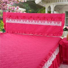 浩情国际 唯美系列-床头罩 1.2米 玫红