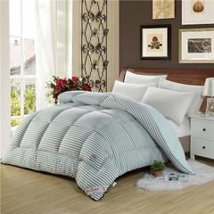 秋冬被子系列 印花水洗棉冬被 150x200cm条/4斤 简约生活-果绿