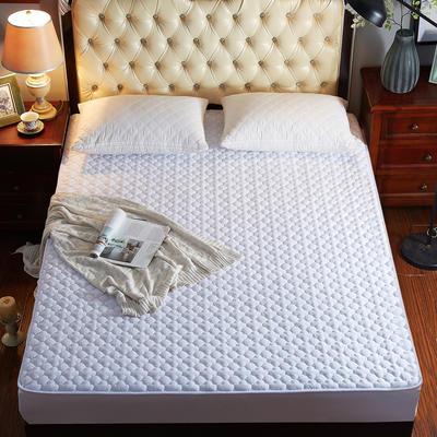 2021秋冬更新上市 爆款夹棉床笠4个系列 水晶绒系列-床笠 150*200/条 白色