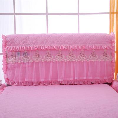 2020更新上市床头罩  床头柜系列 梦巴黎系列-床头罩 1.8米 粉