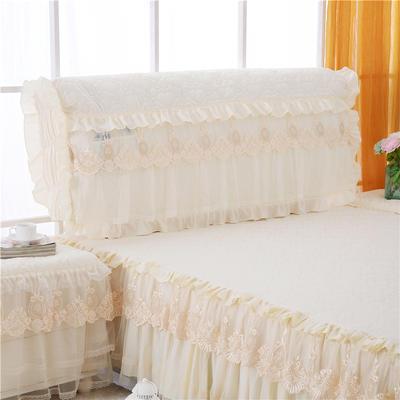 2020上市田园爱情 -床头罩系列 1.8米 白