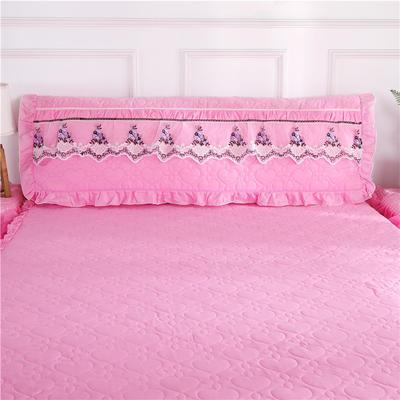 2020新款甜蜜花语-床头罩 1.5米 粉