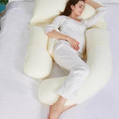 2021新款G孕妇枕系列 蛋黄色