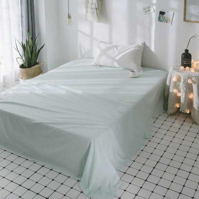 2018新品全棉喷气水洗棉床单 180cmx230cm 寿司