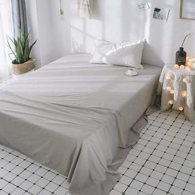 2018新品全棉喷气水洗棉床单 180cmx230cm 仙人掌