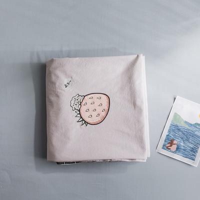 2019新款-绣花系列单品床单 180cmx230cm 樱花粉