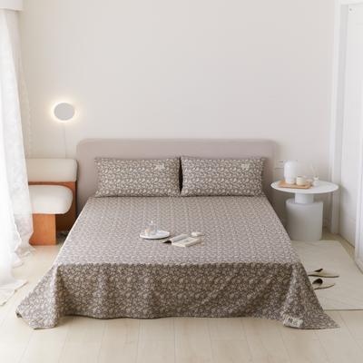 2021新款印花单品床单 160*245cm 梵芙床单