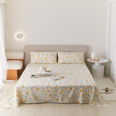 2021新款印花单品床单 160*245cm 花果派床单