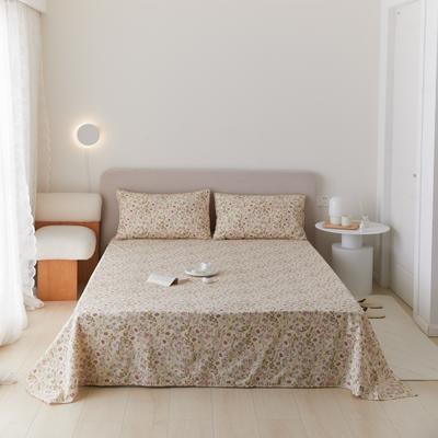 2021新款印花单品床单 160*245cm 梨云床单