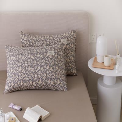 2021新款印花单品枕套 48*74/对 梵芙枕套