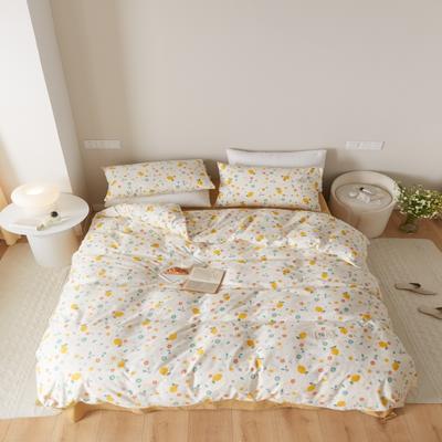 2021新款印花槿色套件 1.5m床单款四件套 花果派