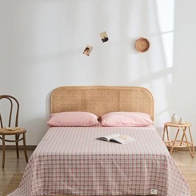 2021新款无印单品系列--单床单 160*245cm 安蒂亚-粉