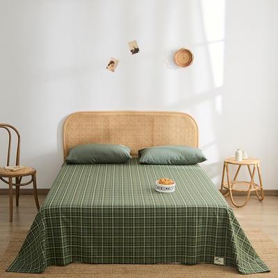 2021新款无印单品系列--单床单 160*245cm 汤加