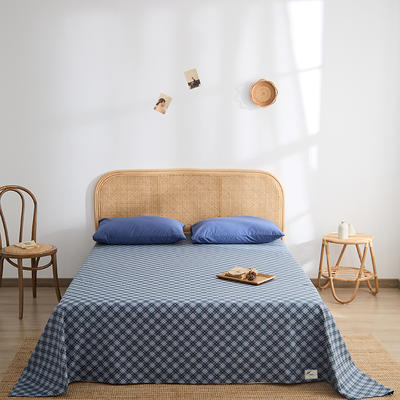 2021新款无印单品系列--单床单 160*245cm 维拉