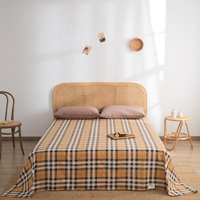 2021新款无印单品系列--单床单 160*245cm 印象空间