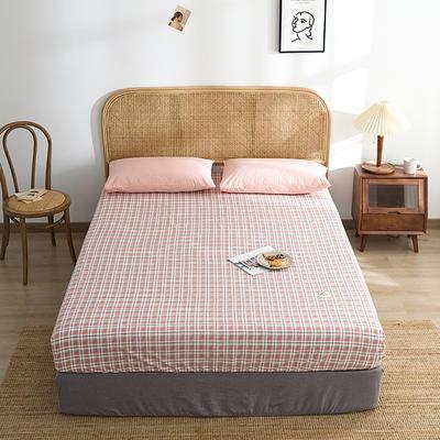 2021新款无印单品系列--单床笠 120*200cm 安蒂亚-粉