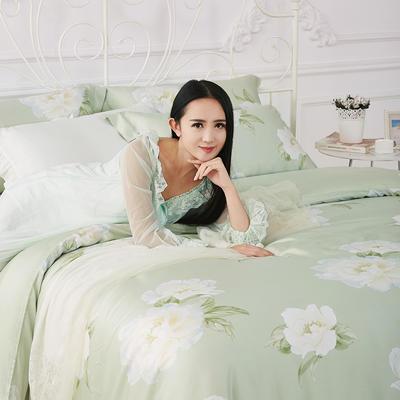 40天丝四件套 标准 薇恋花语