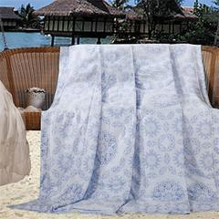 40天丝夏被系列 标准 瓷都蓝梦
