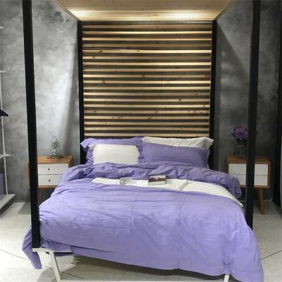 全棉剪花提花 标准 梦幻回廊(紫色)