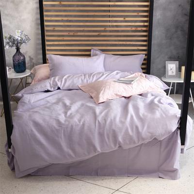 特价色织提花 标准 浅紫