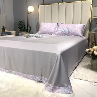 60天丝印花单床单 标准 艾莎单床单