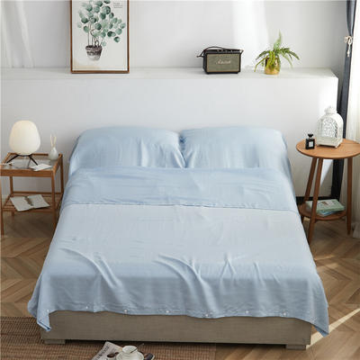60天丝睡袋 1.8米 静美年华(蓝)