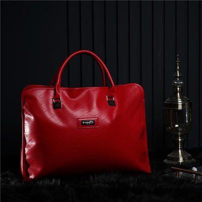 包装系列 四件套包装 红色皮革包装