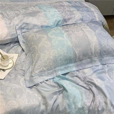 特价金太阳面料60天丝单枕套 其它 彩意时间(蓝)