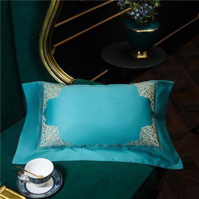 小抱枕 35*50(一只含芯) 美帝奇(蓝绿)