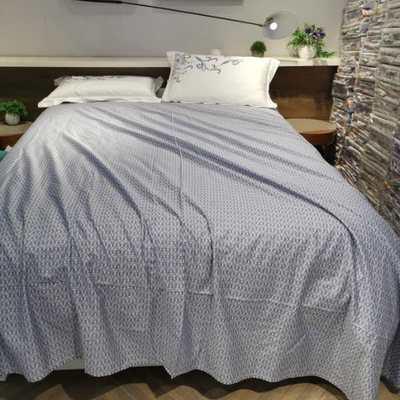 金太阳60贡缎长绒棉单床单 卷边 245cmx250cm 沁香
