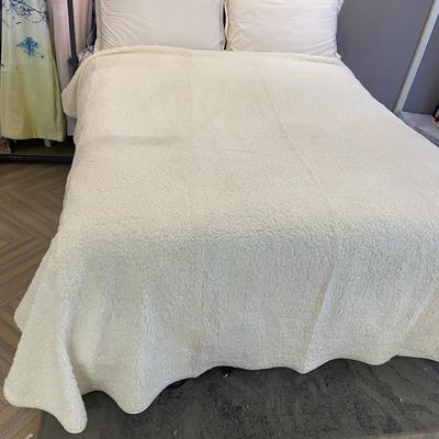 二等品特价羊羔绒单床单 230*250 羊羔绒单床单
