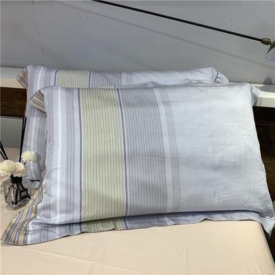 60天丝单枕套(一对) 迪瑞尔(黄)