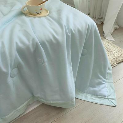 特价有氧纱夏被 200X230cm 忆慢(蓝)