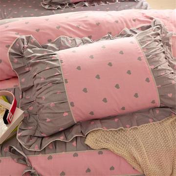 伊宁家纺  韩版枕套