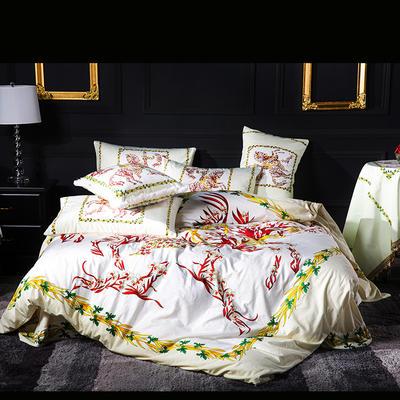 意大利绒+宝宝绒 1.5m(5英尺)床 鲜花王子
