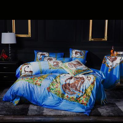 意大利绒+宝宝绒 1.5m(5英尺)床 音乐丛林