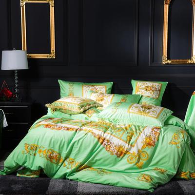 意大利绒+宝宝绒 1.5m(5英尺)床 金色年华