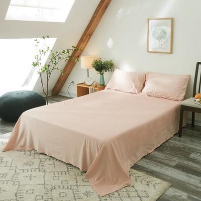 保暖被套天鹅绒单床单水晶绒法莱绒床单单人双人床单1.5m1.8m2.0m 160cmx230cm 亮粉色