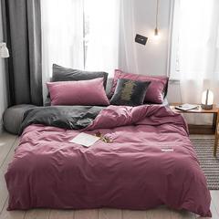 保暖刺绣天鹅绒单床单水晶绒法莱绒床单单人双人床单1.5m1.8m2.0m(刺绣) 单被套150*200 夜寐-豆沙