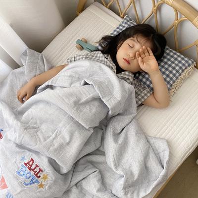 2020新款兒童針織棉夏被 單品夏被120x150cm 小飛機