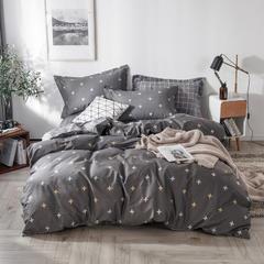 2019新款全棉13070小清新床单四件套 1.2m(4英尺)床 安吉拉
