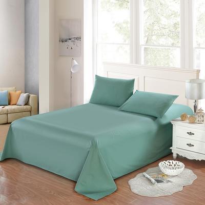 全棉13372单品纯色床单 195*235cm 玛瑙绿