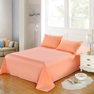 全棉13372单品纯色床单 195*235cm 象牙玉