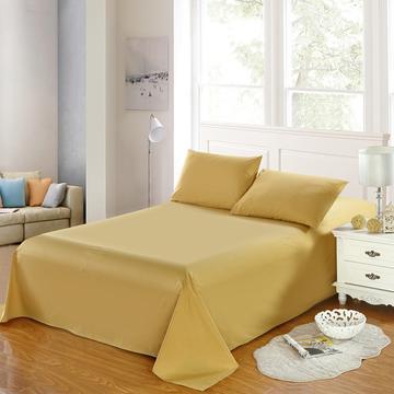 全棉13372单品纯色床单